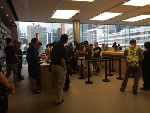 Apple Store 香港